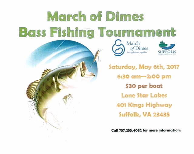 March of Dimes Bass Fishing Tournament